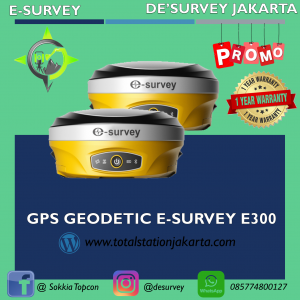 GPS GEODETIC ESURVEY E600