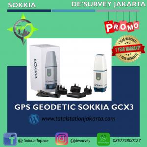 GPS GEODETIC SOKKIA GCX3