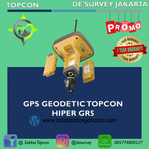 GPS TOPCON GNSS- RTK HIPER GR