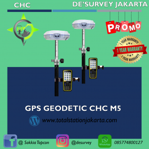 GPS GEODETIC CHC M5