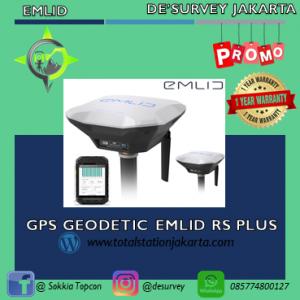 GPS GEODETIC EMLID RS PLUS