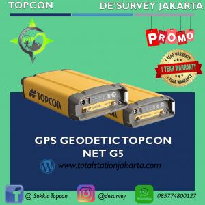 GPS GEODETIC TOPCON NET G5