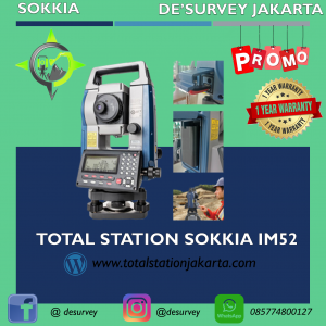 JUAL TOTAL-STATION SOKKIA IM52