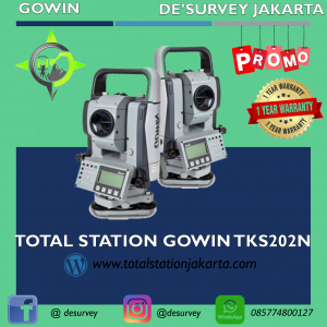 TOTAL STATION GOWIN TKS202N