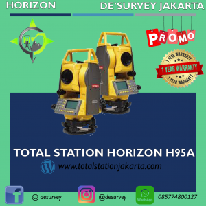 TOTAL STATION HORIZON H95A