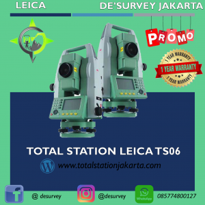TOTAL STATION LEICA TS06