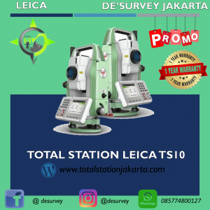 TOTAL STATION LEICA TS10