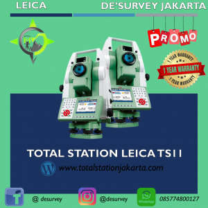 TOTAL STATION LEICA TS11