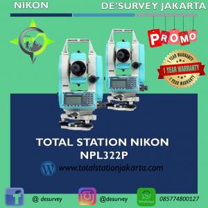 Total Station Nikon-322p