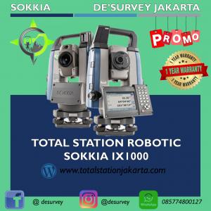 TOTAL STATION ROBOTIC SOKKIA IX1001