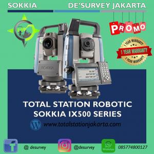 TOTAL STATION ROBOTIC SOKKIA IX500 SERIES
