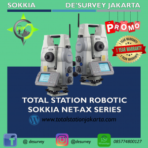 TOTAL STATION SOKKIA ROBOTIC NET 5AX
