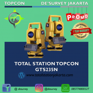 TOTAL STATION TOPCON GTS235N