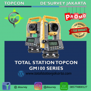 TOTAL STATION TOPCON GM100 SERIES
