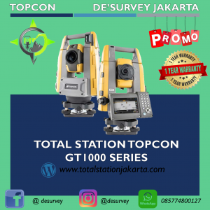 TOTAL STATION TOPCON GT1000 SERIES