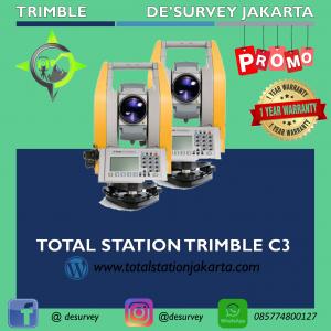 TOTAL STATION TRIMBLE C3