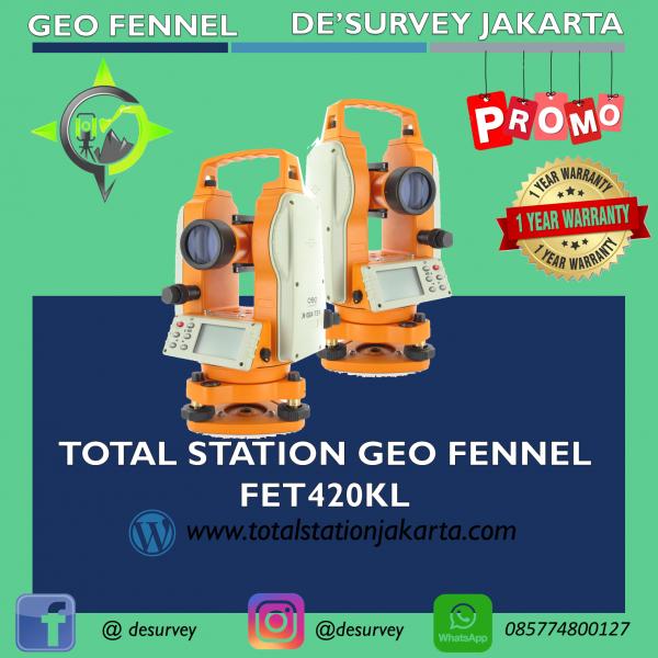 TOTAL STATION GEO FENNEL FET420KL