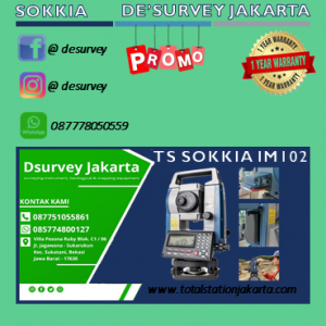 TOTAL STATION SOKKIA IM 102