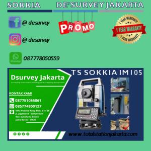 TOTAL STATION SOKKIA IM 105