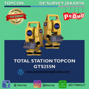 TOTAL STATION TOPCON GTS255N
