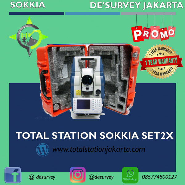 TOTAL STATION SOKKIA SET2X