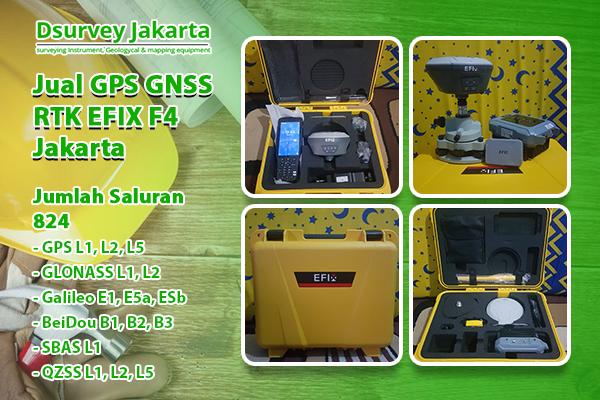 Jual GPS GNSS RTK EFIX F4