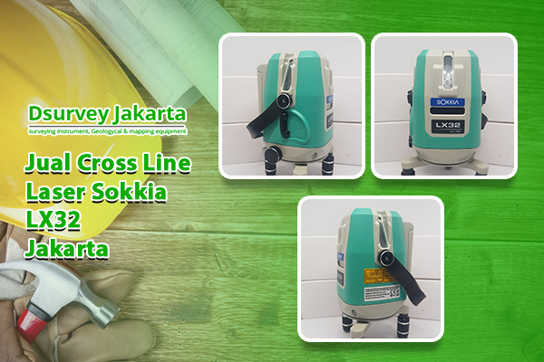 jual Cross Line Laser Sokkia LX32